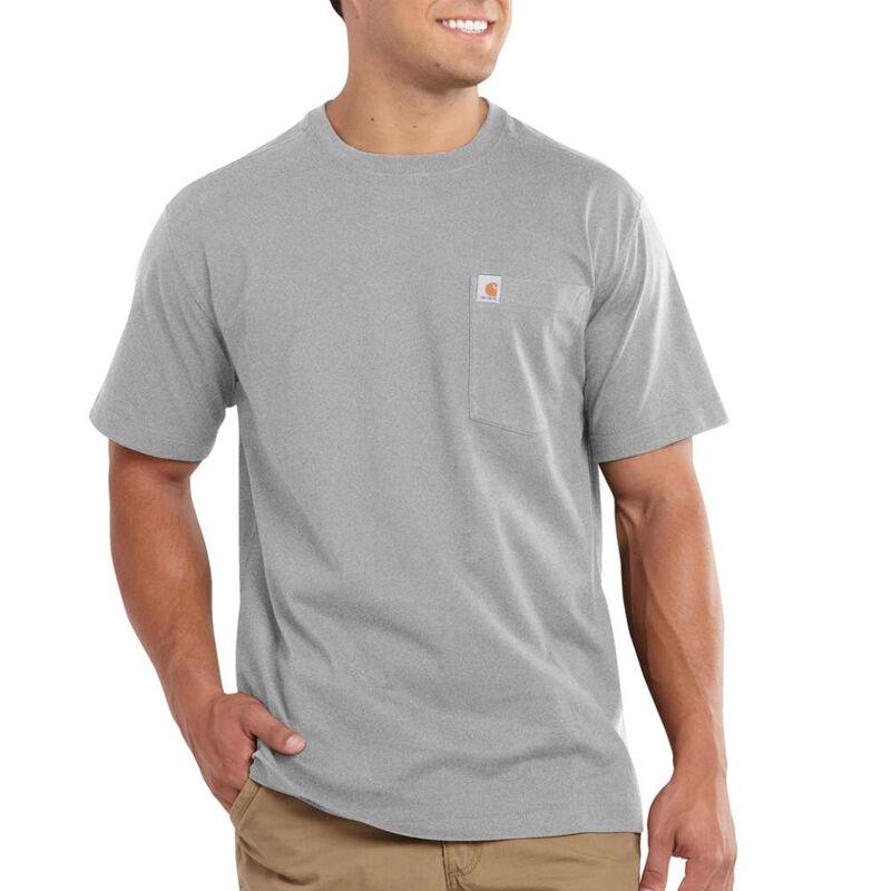 Carhartt Men's Maddock Pocket Short-Sleeved T-Shirt image number 3