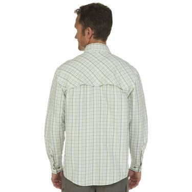 Nepallo Men's Trophy Quick-Dry Plaid Long-Sleeve Shirt