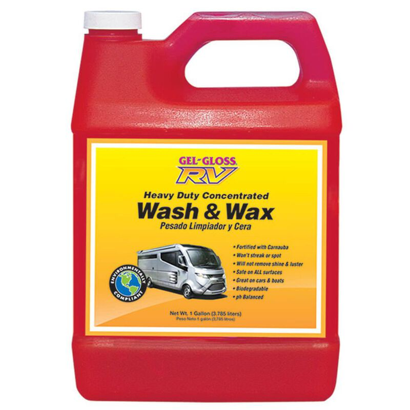 Premium Gel-Gloss Wash and Wax - Gallon image number 1