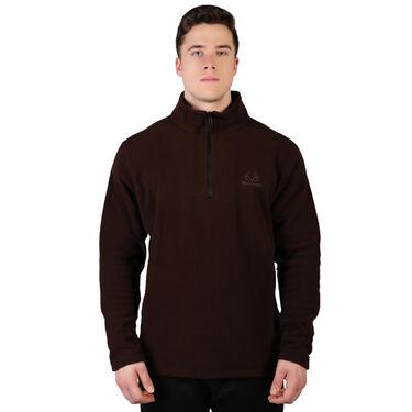 Realtree Men's Polar Fleece 1/4 Zip Jacket
