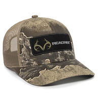 Realtree Iconic Patch Camo Mesh-Back Cap