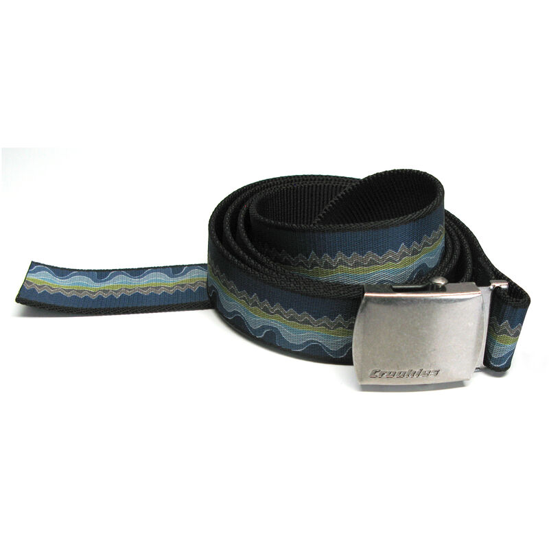 Croakies Men's Artisan 1 Belt With Military Buckle image number 2
