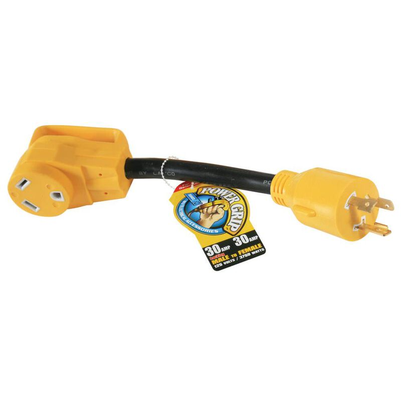 Camco PowerGrip Generator Adapter, 30A image number 1