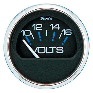 Faria Chesapeake SS Instruments Voltmeter