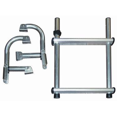 Dockmate Folding Transom Ladder, 2-Step
