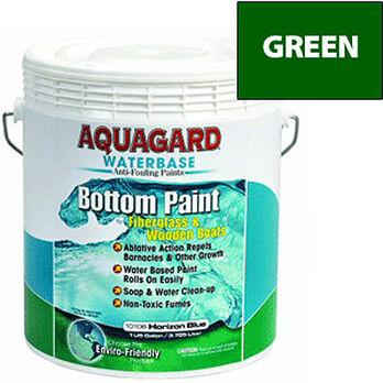 Aquaguard Waterbase Anti-Fouling Bottom Paint, Gallon, Green