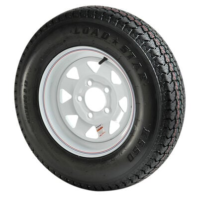 B78x 13 C Bias Trailer Tire & Wheel