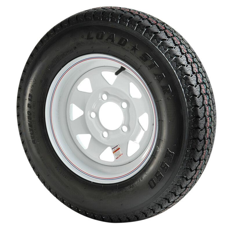 B78x 13 C Bias Trailer Tire & Wheel image number 1