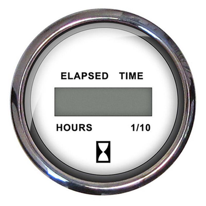 "Faria 2"" Euro Digital Hourmeter, White image number 1"