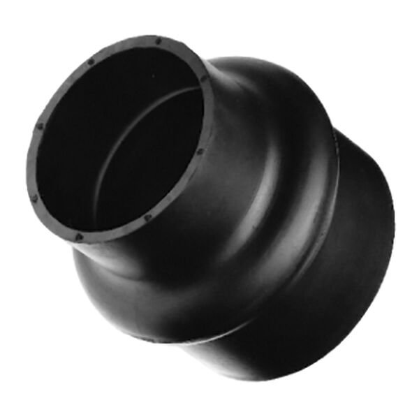 "Sierra 4"" Rubber Hump Hose Connector, Sierra Part #116-220-4000"