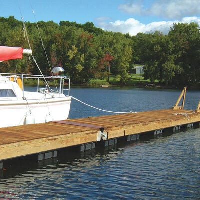 "Dock Float Black 24""x36""x16"""
