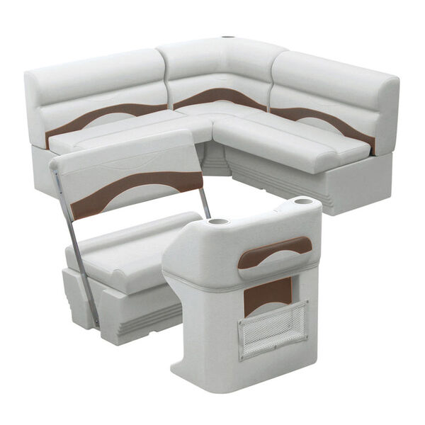 Toonmate Premium Pontoon Furniture Package, Rear Group Package E