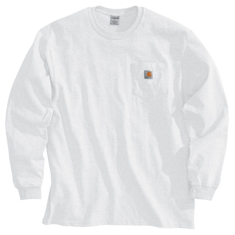 Carhartt Men's Workwear Long-Sleeve Pocket Tee image number 1