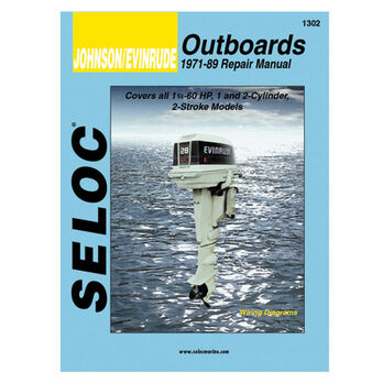 Seloc Marine Outboard Repair Manuals for Johnson/Evinrude '73 - '89