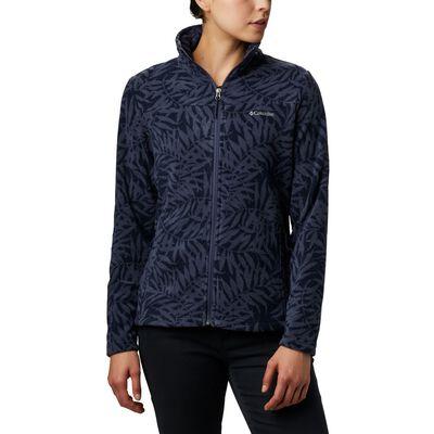 Columbia Women's Fast Trek Light Printed Full-Zip Jacket