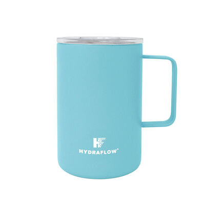 Hydraflow 17-oz. Parker Mug w/Lid, Aqua