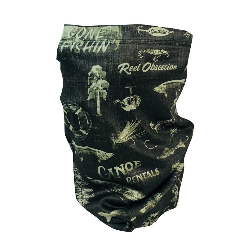 Reel Obsession Men's Boathouse/Lakeshore Buff image number 1