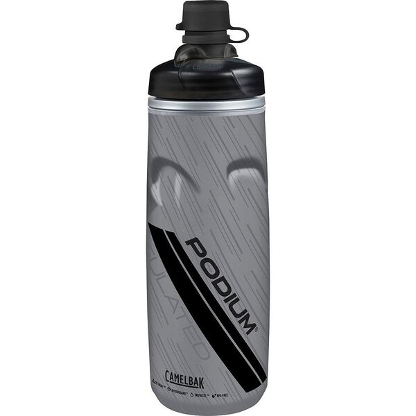 CamelBak Podium Chill 21 oz. Water Bottle, Dirt Series Stealth