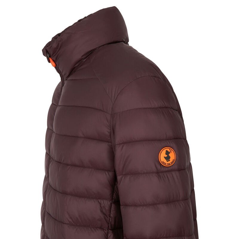 Save The Duck Men's Giga Mid Quilted Winter Coat image number 3