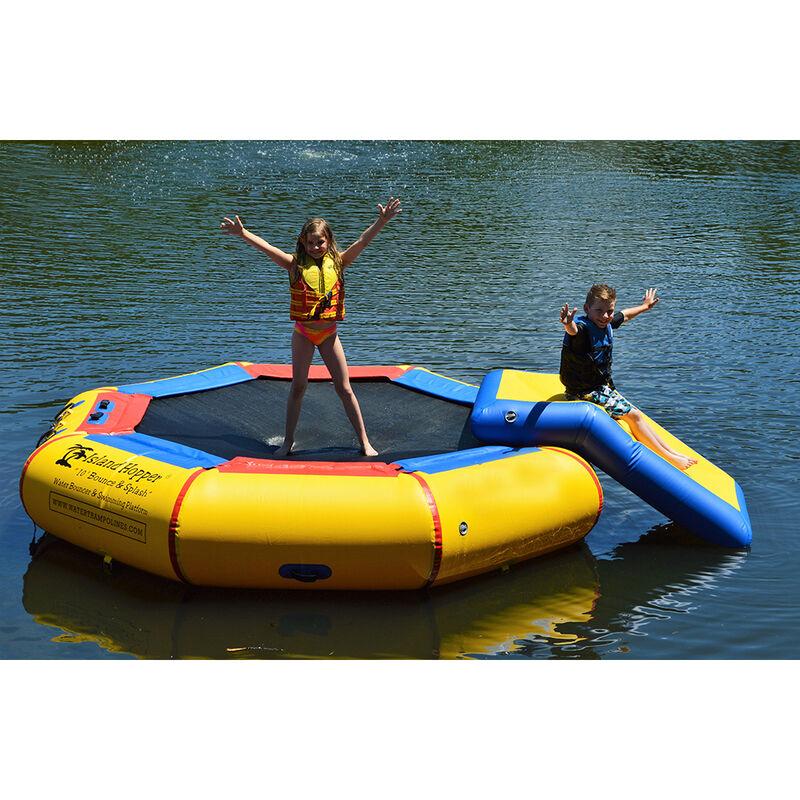 Island Hopper 10' Bounce-N-Splash Bouncer With Slide image number 2