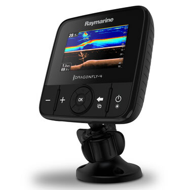 Raymarine Dragonfly 4 DVS With Dual-Channel CHIRP DownVision Sonar