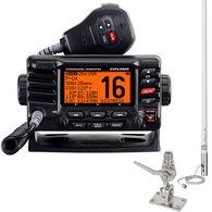 Standard Horizon Explorer GPS GX1700 VHF Radio Package w/Antenna, SS Mount