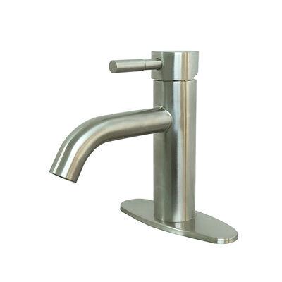 "Empire Faucets RV Bathroom Metal Vessel Faucet, 6-3/4"", Brushed Nickel"