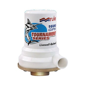 Rule Tournament Series Livewell Pump With Bronze Base