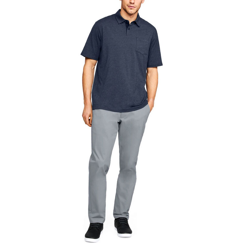 Under Armour Men's Charged Cotton Scramble Polo image number 5