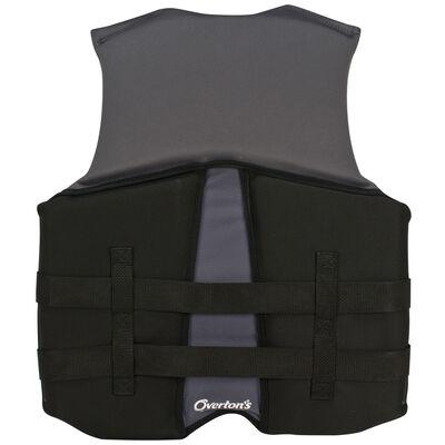 Overton's Men's BioLite Life Jacket With Flex-Fit V-Back - Gray - S