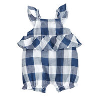 Mud Pie Girls' Gingham Bubble