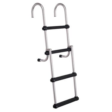 Toonmate Removable Folding Pontoon Ladder 4-Step