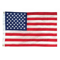 "Deluxe Sewn Nylon American 50-Star Flag, 20"" x 30"""