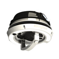MaxxAir MaxxFan Dome Plus with Cool White LED Lighting, Black