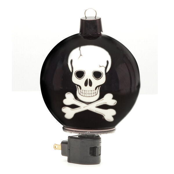 Midwest CBK Fall Light in the Night Skull Beaded Night Light