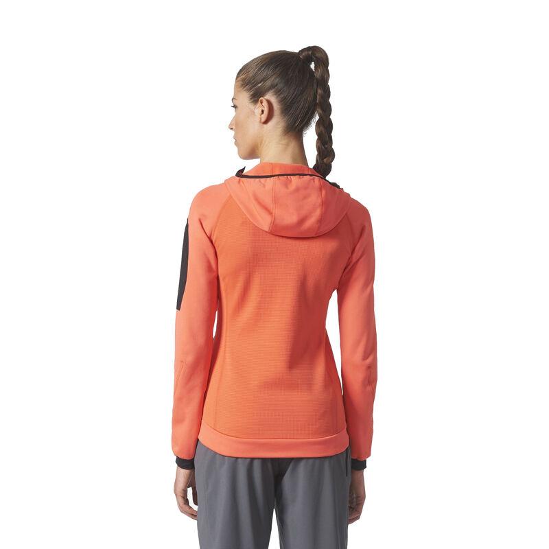 Adidas Women's Terrex Stockhorn Fleece Full-Zip Hoodie image number 7