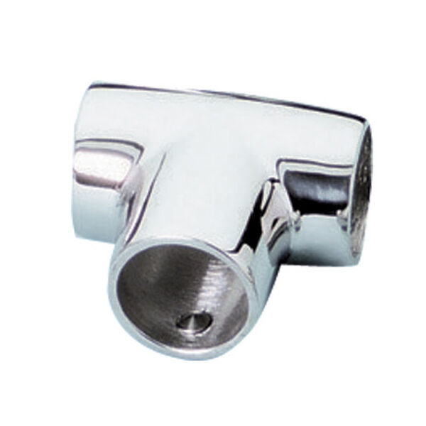 Whitecap Universal 90° Tee Rail Fitting, Stainless Steel
