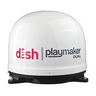 DISH Playmaker Dual Portable Satellite Antenna, White