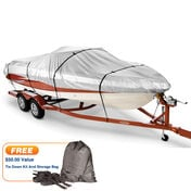 Covermate HD 600 Trailerable Cover for 14'-16' V-Hull, Tri-Hull Boat