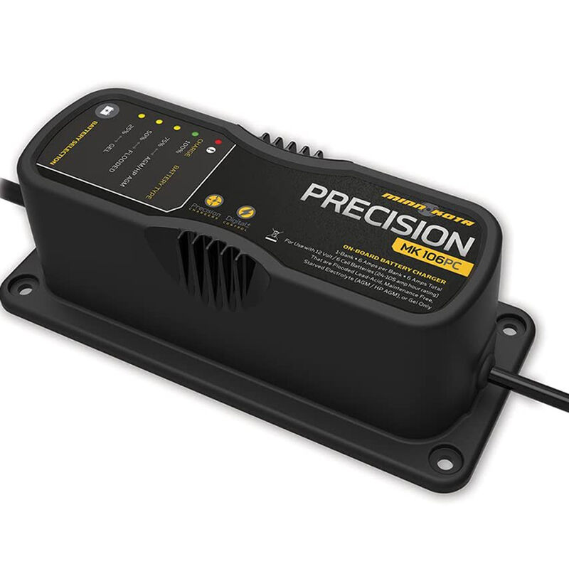 Minn Kota MK106PC 1 Bank x 6 Amp Precision Battery Charger image number 1