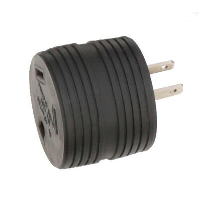 Male 15 Amp to 30 Amp Adapter Round
