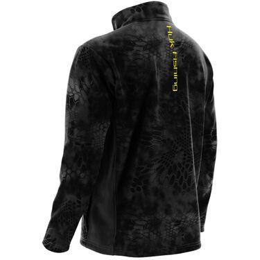 Huk Men's Kryptek Fleece Quarter-Zip Pullover