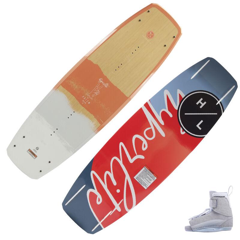 Hyperlite Prizm Wakeboard With Viva Bindings image number 1