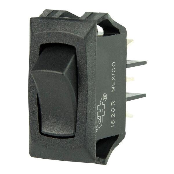 BEP SPDT Rocker Switch, On/On, Curved