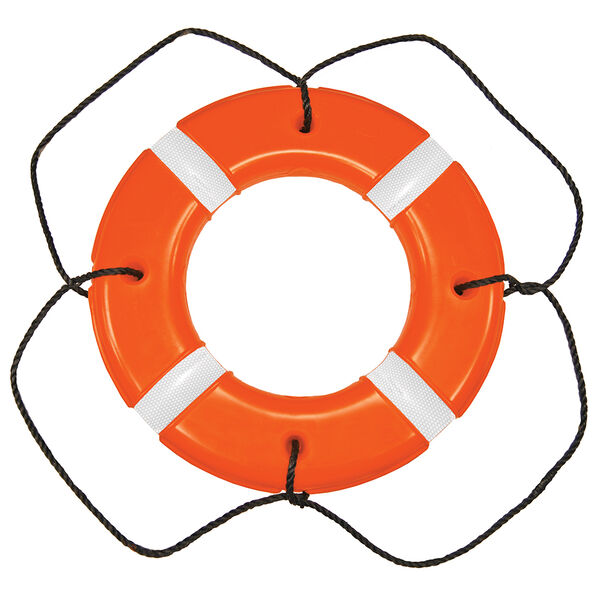 """Life Ring USCG/SOLAS Approved Orange 30"""""""