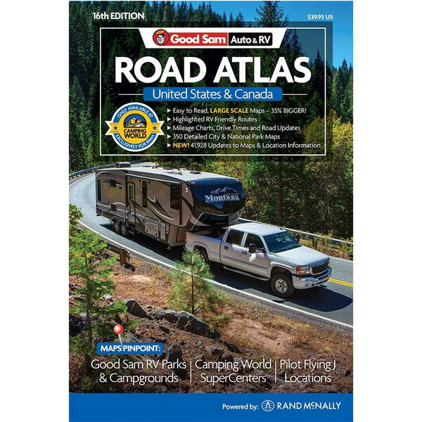 Good Sam Auto & RV Road Atlas, 16th Edition