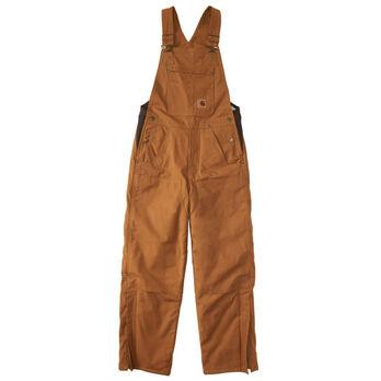 Carhartt Boy's Quilt-Lined Canvas Bib Overall