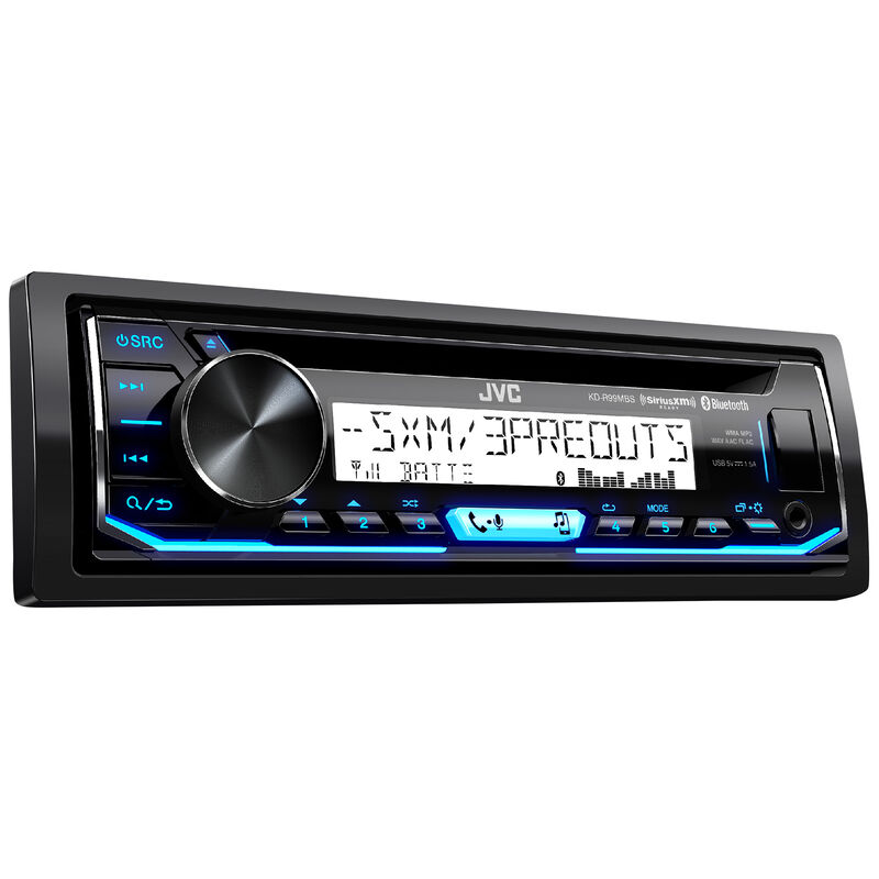 JVC KD-R99MBS CD Receiver With Bluetooth image number 1