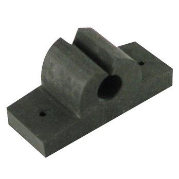 """Rubber Rod/Tool Holder, black 1"""""""