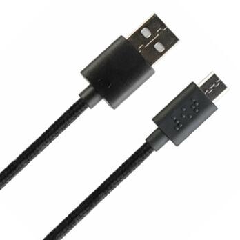 Fusebox Micro USB Braid Cable, 9'